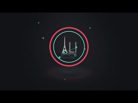 Connected Shape Logo Reveal | #ALI Imagine Creativity