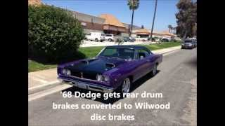 68 Dodge Coronet disc brake conversion