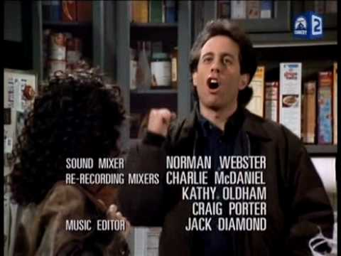Best Seinfeld Moments Seinfeld, Elaine, Kramer, George - Behind the Scenes, Uncensored Funny