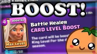 Trying out NEW Card Boost for Battle Healer on Ladder 🍊