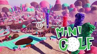 Sidearms Loves FUDGE! Candy Land Map Ripoff!?!? Tower Unite Golf With Speedy & Sidearms
