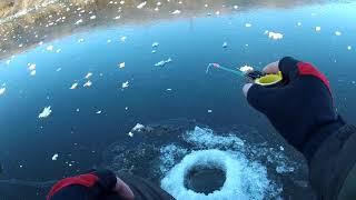 Рыбалка по первому льду Открытие сезона Зимней Рыбалки 2019 2020