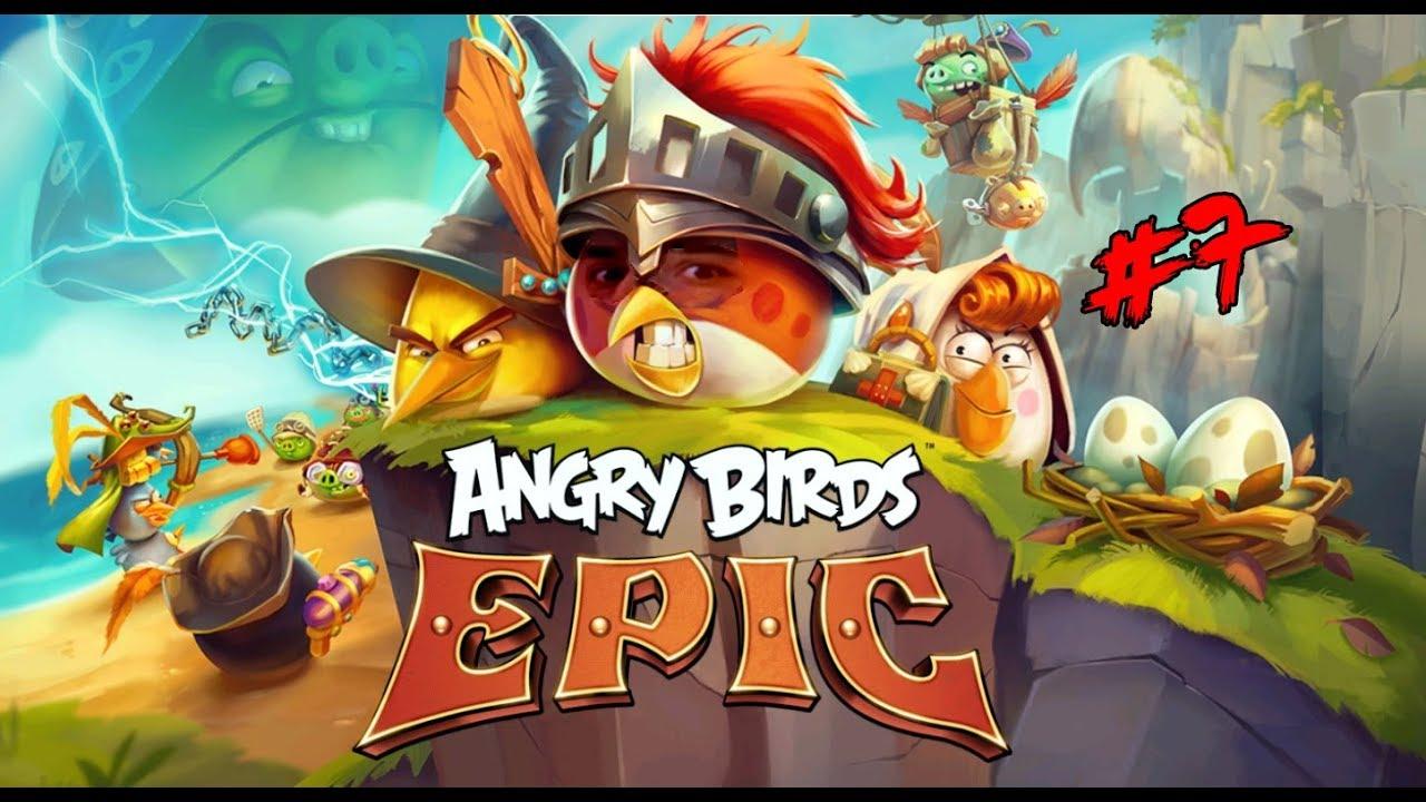 Kızgın Kuşlar Birbirine Daldı - Angry Birds Epic # 7 - YouTube