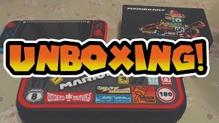 Mario Kart Nintendo Switch Carrying Case & Skin Unboxing & Review!