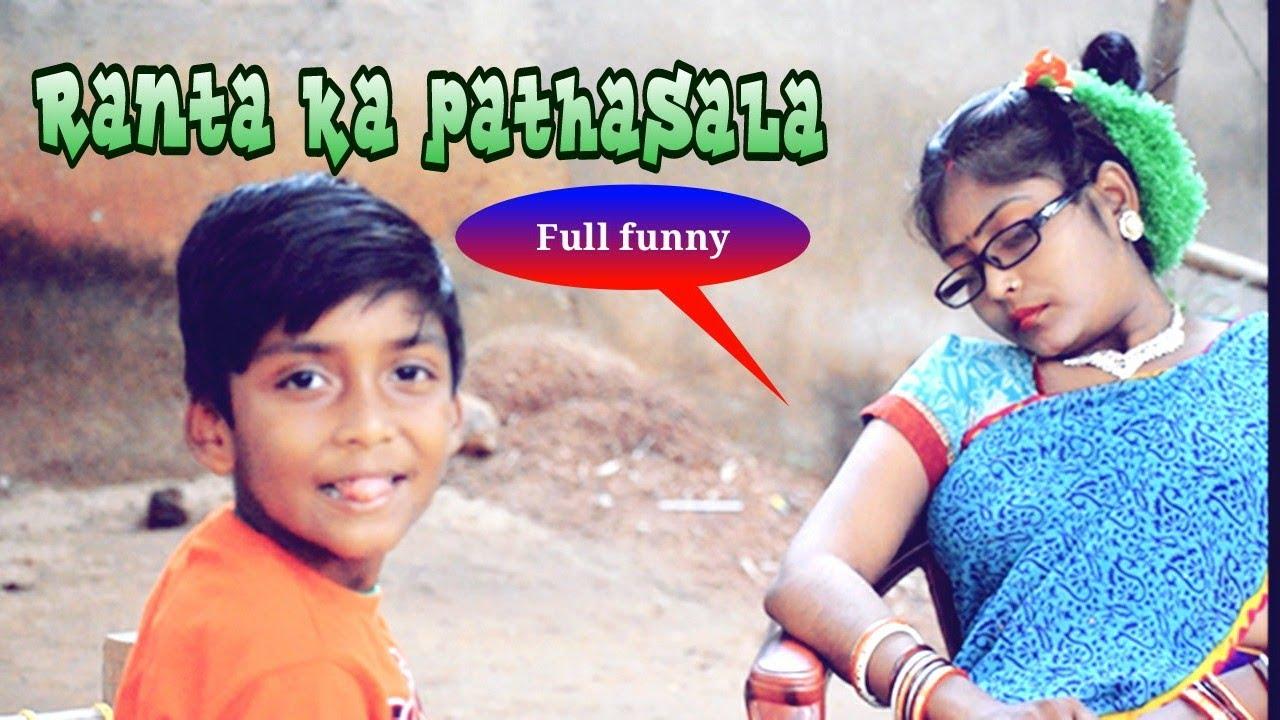 #santalicomedy New cute baby ka pathasala santali comedy video