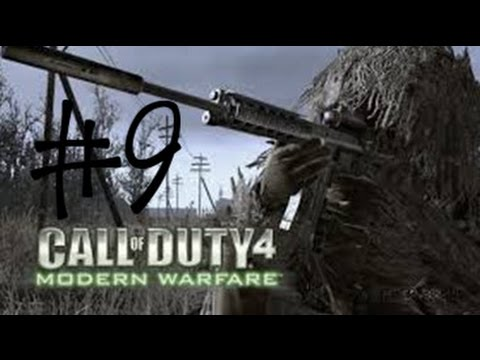 Call of Duty 4 Modern Warfare Walkthrough/Gameplay Part 9 - ACT II - Active Camouflage  (PC/1080p)