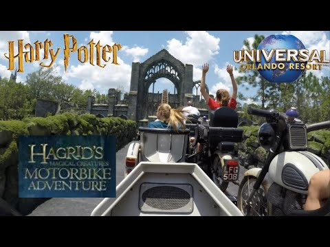Hagrid's Magical Creatures Motorbike Adventure - FULL RIDE POV