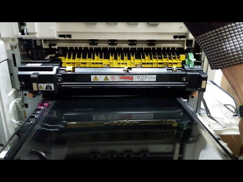 How to replace Xerox WorkCentre Fuser & Transfer Belt Unit 7425, 7435, 7525, 7530, 7535, 7545, 7556