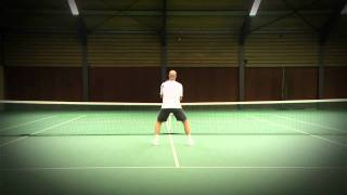 Tennisles .TV  VOLLEY: Instappen  (HD)