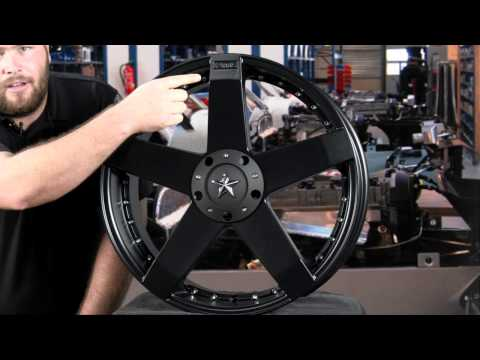 KMC XD775 Rockstar Car Wheel