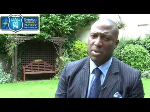 Everton Former Players' Foundation interview 'Super' Kevin Campbell