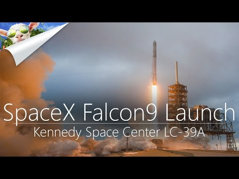 SpaceX Falcon 9 Launch | CRS-10 | LPC-39A | 2.19.2017 | Dragon Capsule | View from KSC