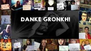 ➽ Unser Song für Gronkh - Deine Community sagt Danke! (:  【Community-Projekt】 ♥