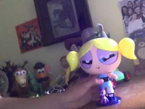 Powerpuff Girls Best Friends Magic Motion Buttercup And Bubbles 2002