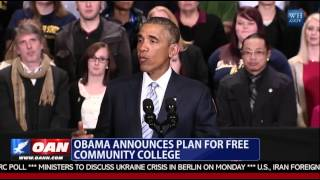 Obama Announces Plan For Free Community College
