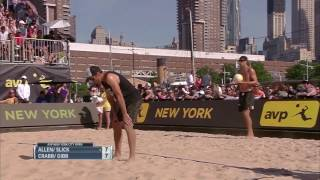 AVP Gold Series /// NYC Open 2017 Men's Final: Allen/Slick vs Gibb/Crabb