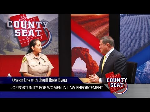 The County Seat   One on One with Sheriff Rosie Rivera