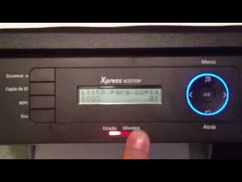Reseteando Samsung Laser Multifuncional SL M2070 M2070W