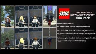 LEGO Marvel Super Heroes The Video Game TASM Skin Pack Mod