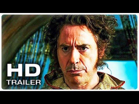 УДИВИТЕЛЬНОЕ ПУТЕШЕСТВИЕ ДОКТОРА ДУЛИТТЛА Русский Трейлер #2 (2020) Роберт Дауни мл.Fantasy Movie HD