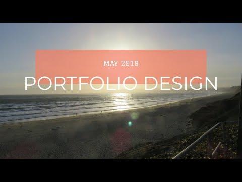 Portfolio Design in May 2019