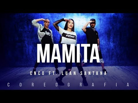 Mamita - CNCO ft. Luan Santana | FitDance TV (Coreografia) Dance Video