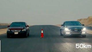 جينيسس جي 80 ضد نيسان التيما | Genesis G80 VS Nissan Altima