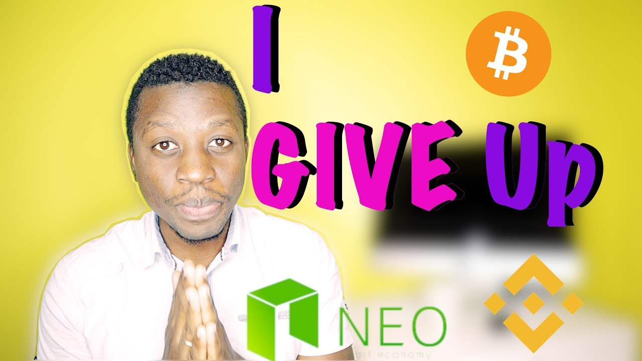 I bought 3 Bitcoin worth of Neo at $13 then it CRASHED | Buying Binance Tokens + My Investment Plans