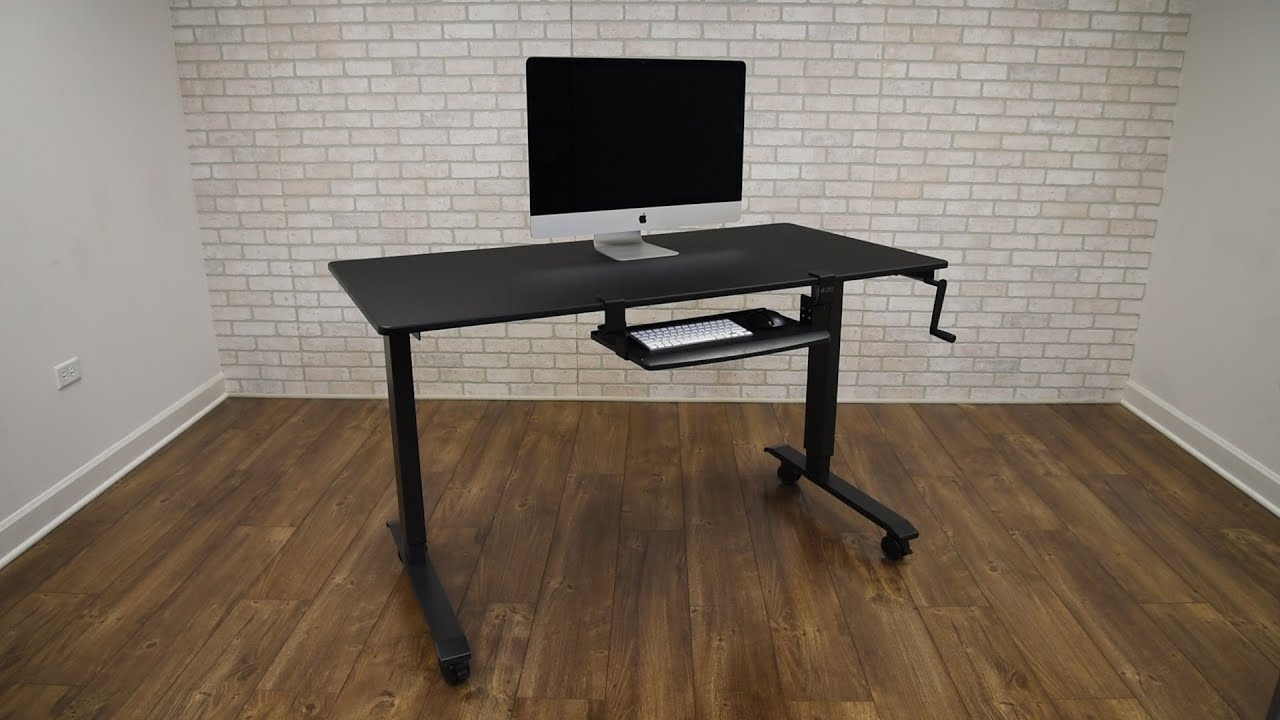 Clamp On Retractable Adjustable Height Keyboard Tray | Stand Up Desk Store