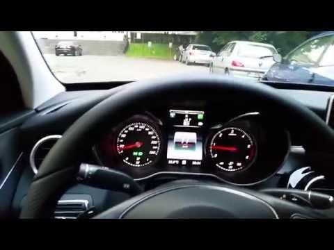 Mercedes C Class W205 Auto Parking (Parktronic)