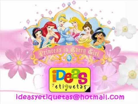 Princesas Disney Princess Sticker Decorativos