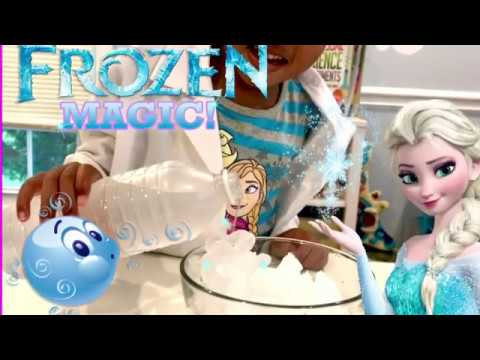 How to Make Instant Ice -  How to Have Frozen Powers Like Elsa