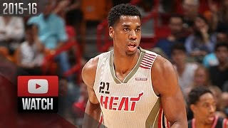 Hassan Whiteside Full Highlights vs Raptors (2015.11.08) - 20 Pts, 11 Reb, 6 Blocks