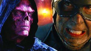 Режиссёры признались, как Капитан Америка вернул камень Души Красному Черепу в Мстители 4 Финал