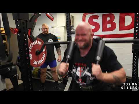 Hafþór Júlíus Björnsson - Training for World's Ultimate Strongman - 26 October
