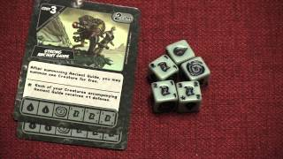 Quarriors! Quartifacts Review  - with Tom and Melody Vasel