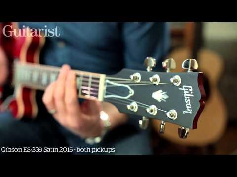 Gibson Memphis ES-335 Satin 2015 & ES-339 Satin 2015 electric guitar review demo