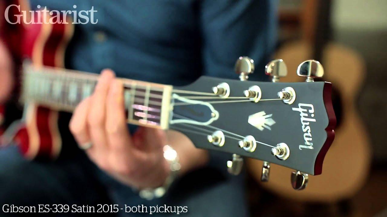 Gibson Memphis ES 335 Satin 2015 339 Electric Guitar Review Demo