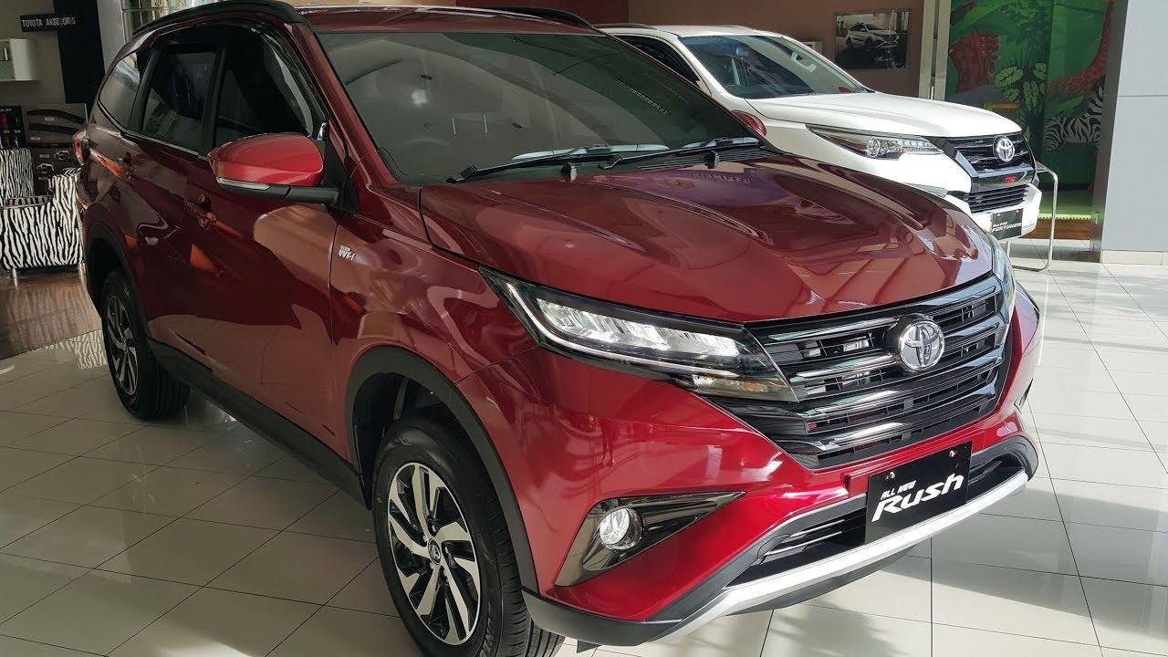 Grand New Avanza Vs All Rush Harga Veloz Toyota G 2018 Mt 1 5 Youtube
