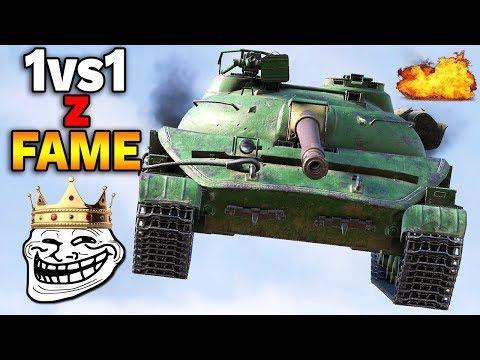 GRAMY 1vs1 z FAME - World of Tanks