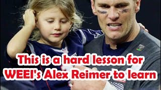 Is alex reimer implanted challenge in his tom brady daughter or what ?