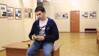 Как собрать кубик Рубика за несколько секунд