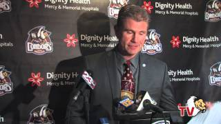 RAW | Matthew Riley AHL Press Conference