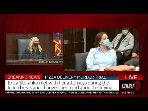 Erica Stefanko initially stated that she wanted to testify, but ultimately changed her mind