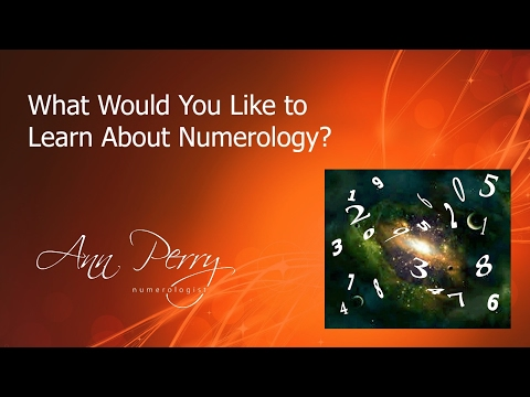 What Would You Like To Learn About Numerology?