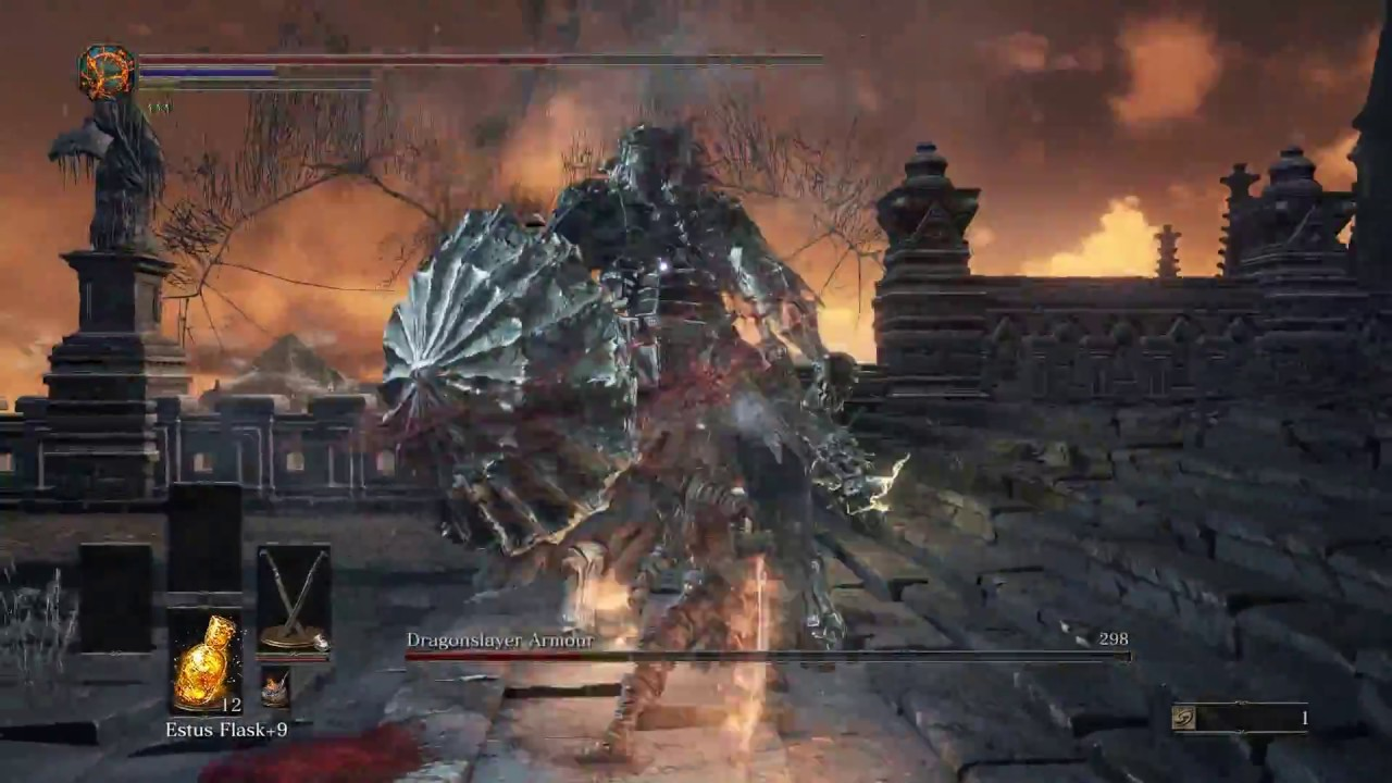 Dark Souls III (PvE) Sellsword Twinblades Damage Showcase