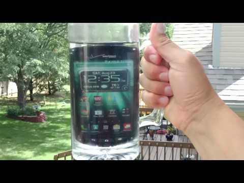 on sale 343c2 6b754 Kyocera Brigadier The New Waterproof Verizon Phone - YouTube