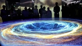 Лазерное шоу в павильоне Германии