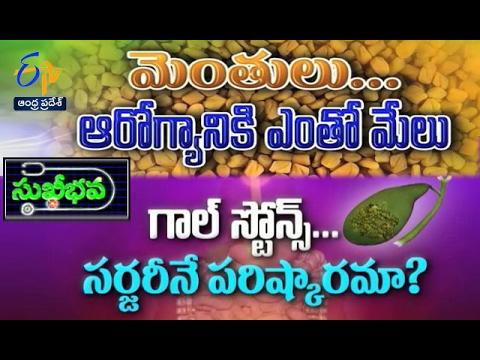 Sukhibhava   15th February 2017   Full Episode   ETV Andhra Pradesh