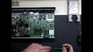 Dreambox 8000 - DM8000 DVD Laufwerk einbauen